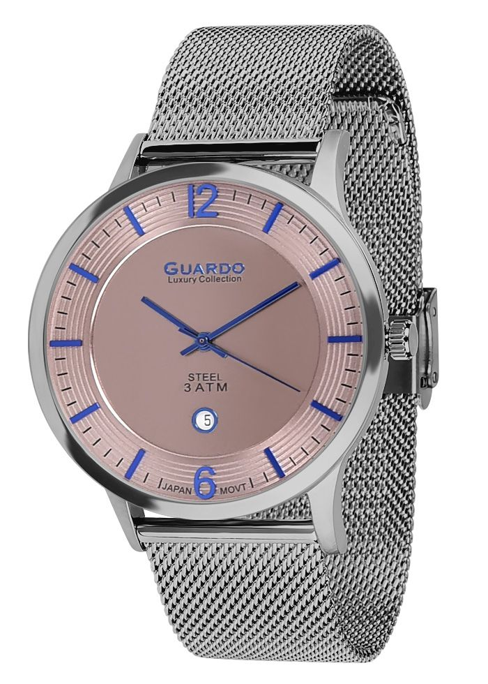 Guardo watch S01254-3 Luxury 2018 MEN Collection