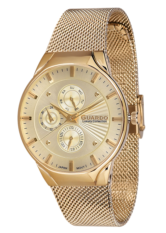 Guardo watch S01660-6 Luxury 2018 MEN Collection