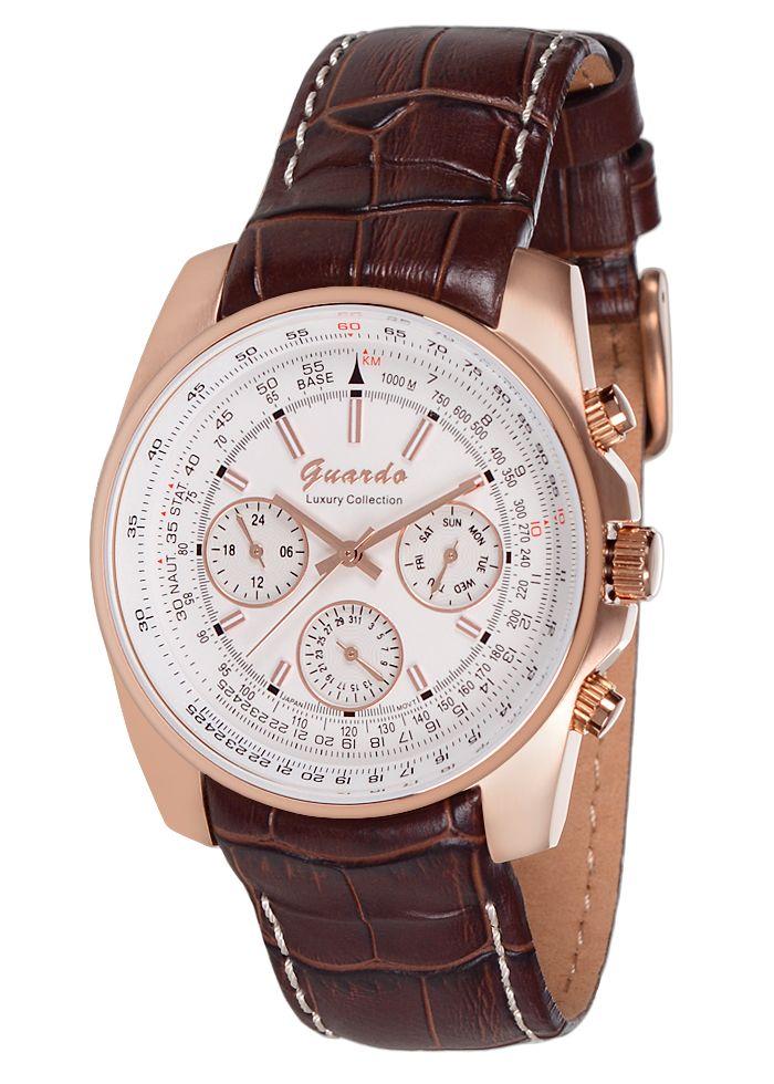 Guardo watch S9861-7 Luxury MEN Collection