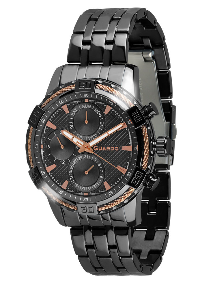 Guardo Premium Men's Watch B01352(1)-5